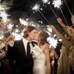 use sparklers for weddings for an unfogetable moment